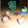 Rubber Insects with Paraphernalias and case